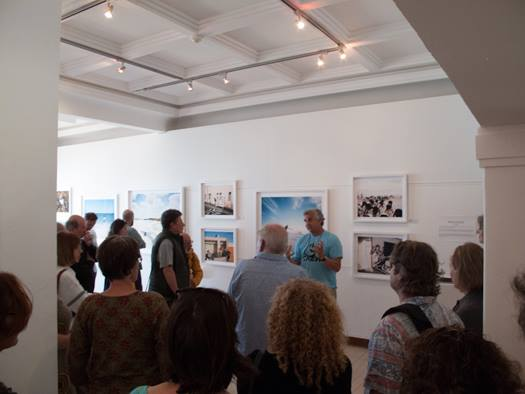 Paul Weinberg talks to the exhibition themes at the Walkabout on 12 October 2014